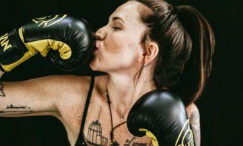 boxe thai femme